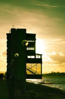 Germany, Bavaria, Oberschleissheim, Tower at the Regatta Course - FCF000138