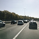 The Netherlands, North Holland, Busy freeway during the Easter weekend, - HAW000147