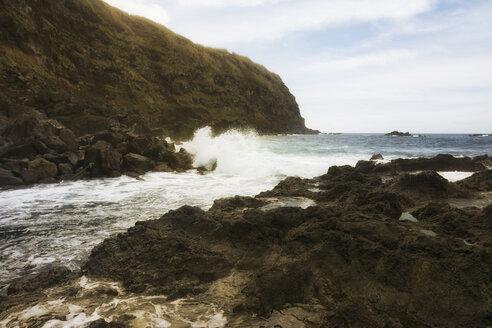 Portugal, Azores, Sao Miguel, Piscina naturale di Ferreira - ONF000506