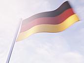 German flag, 3D Rendering - UWF000093