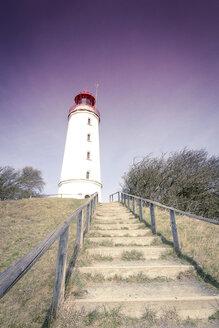 Germany, Mecklenburg-Western Pomerania, Hiddensee, Dornbusch, view to lighthouse - CMF000127