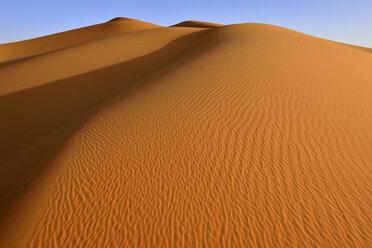 Algeria, Tassili n' Ajjer, Sahara, sand ripples of desert dune - ESF001038
