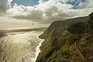 Portugal, Azores, Sao Miguel, Cliff line at Nordeste - ONF000528