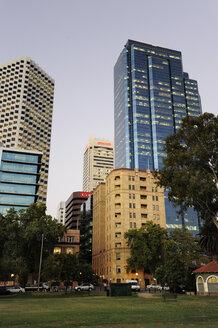 Australia, Perth, central business district, Esplanade, office buildings - MIZ000518