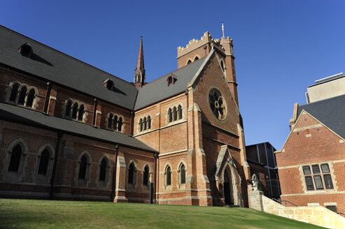Australia, Perth, central business district, St. George's Cathedral - MIZ000517