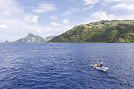 Oceania, Fiji Islands, Boat to island - STD000066