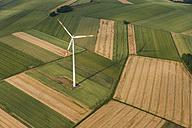 Germany, Rhineland-Palatinate, Eifel, aerial view of fields landscape - PAF000647