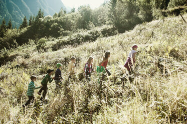 Group of children in the nature - HHF004807