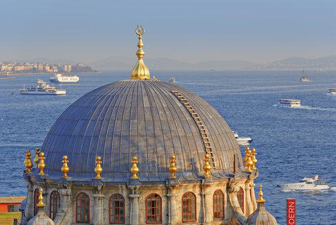 Turkey, Istanbul. Beyoglu, Tophane, Bosphorus, Nusretiye Mosque - SIEF005371