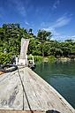 Thailand, Phang Nga, Ko Yao Noi, Resort at the ocean - THAF000316