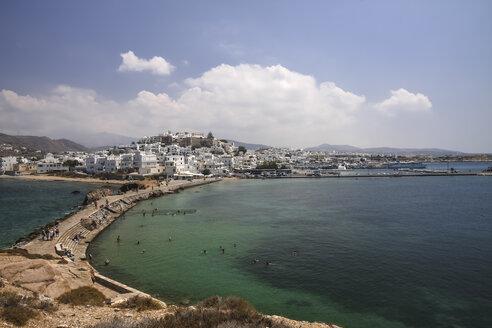 Greece, Cyclades, Naxos City, Harbour - KRPF000485