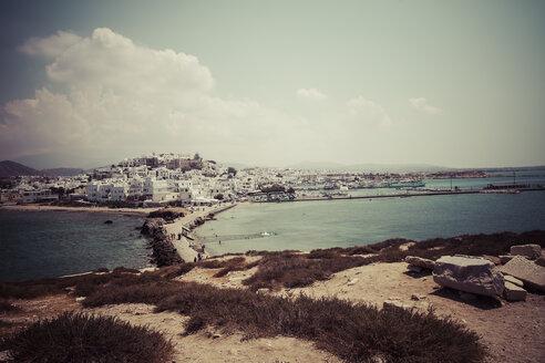 Greece, Cyclades, Naxos City, Harbour - KRP000488
