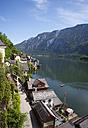 Austria, Upper Austria, Salzkammergut, Hallstatt, Lake Hallstaetter See - WWF003261