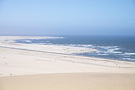 Africa, Namibia, Namib desert, Swakopmund, Dorob National Park, view to Atlantic - HLF000507