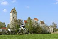 Germany, Bavaria, Upper Bavaria, Nassenfels, Ruins of Nassenfels Castle - LB000743