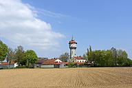 Germany, Bavaria, Upper Bavaria, Schernfeld, Rupertsbuch, Water tower - LB000750