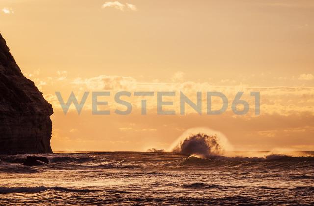 New Zealand, Sunset at Kahurangi Point - WV000640