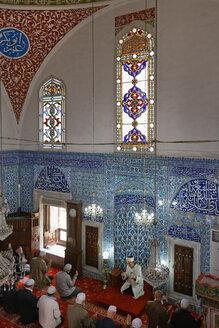 Turkey, Istanbul, Interior of Cinili Camii Mosque - SIE005417