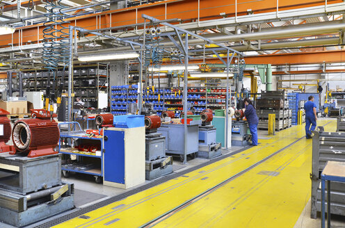 Electric motor production in a factory - SCH000205