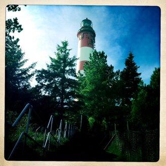 Germany, North Frisia, Amrum, The Lighthouse of fog - MMO000159