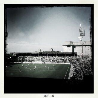 Germany, Hamburg, St. Pauli, football stadium Millerntorstadion