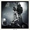 Germany, Hamburg, shipyard crane - MMO000082