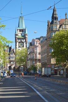 Germany, Baden-Wuerttemberg, Freiburg, Swabian Gate, Schwabentor - MHF000302