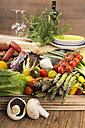 Fresh Mediterranean vegetables - CSTF000349