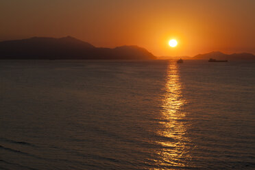 Spain, Bilbao, Coast, Sunset - MKLF000027