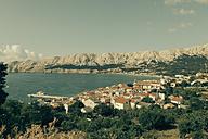 Croatia, Krk Island, Townscape of Baska - MEMF000001