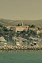 Croatia, Harbor and town of Korcula - MEMF000013
