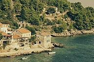 Croatia, Hvar Island, Houses at the coast - MEMF000004