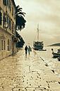 Croatia, Hvar, Waterfront promenade - MEM000015