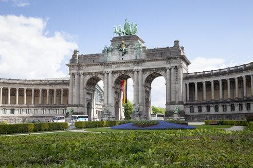 Belgium, Brussels, Parc du Cinquantenaire, Triumphal Arch - WIF000671