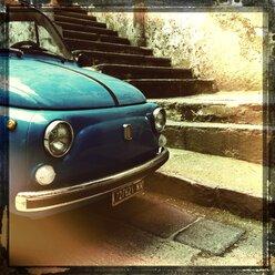 Italy, Campania, Amalfi Coast, Fiat 500 - STE000055