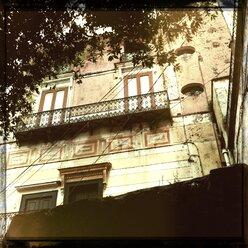 Italy, Campania, Amalfi Coast, house facade - STE000058