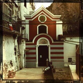 Italy, Campania, Amalfi Coast, Little Church - STE000069