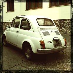 Italy, Campania, Amalfi Coast, Fiat 500 - STE000071