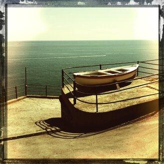 Italy, Campania, Amalfi Coast, boat - STE000073