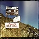 Italy, Campania, Amalfi Coast, Signs - STE000076
