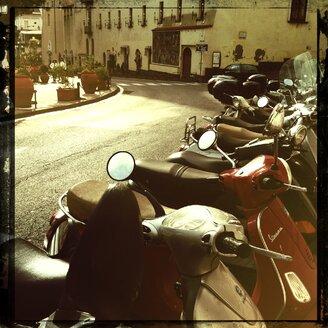 Italy, Campania, Amalfi Coast, Amalfi, Moped - STE000108