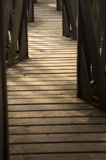 Germany, wooden boardwalk, partial view - FCF000216