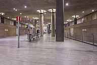 Germany, Berlin, modern architecture of  subway station Bundestag - NKF000121