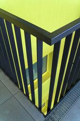 Part of railing of modern multi-family house - TCF004076