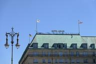 Germany, Berlin, Pariser Platz, Hotel Adlon - HHE000079