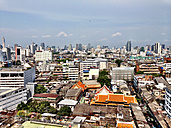 Thailand, Bangkok, close to River ChaoPhraya, Overview Minicipality - AVSF000183