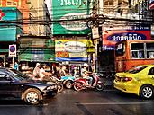 Thailand, Bangkok, street scenes - AVS000188
