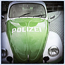 Classic Car, old VW police car, Hamburg, Germany - SE000696
