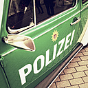 Classic Car, old VW police car, Hamburg, Germany - SE000698