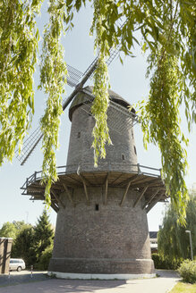 Germany, North Rhine-Westphalia, Werth, Tower mill - MEM000141